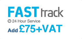 Fast track 24 hour service